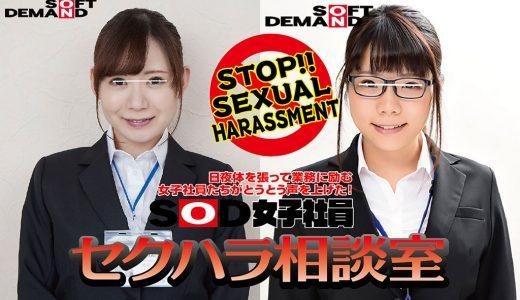 セクハラ、ダメ、ゼッタイ!日常業務に励む中、我慢の限界に達した女子社員たちがついに声を挙げた!?「SOD女子社員セクハラ相談室」第2回