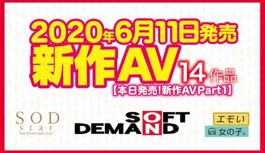 【6月11日発売!新作AV をチェック!!Part1】SODstar/エモい女の子。/ソフト・オン・デマンド【14タイトル】