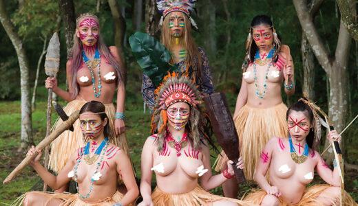 未開の地に潜む美女だらけの部族と遭遇した探検隊!子孫繁栄のため恐ろしいほどの性欲にザーメンを搾り尽くされるSENZレーベル新作『アマゾネス』見どころ紹介レビュー!