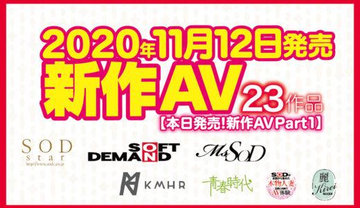 【11/12発売!新作AV チェック!!Part1】SODstar/Ms.SOD/KMHR/青春時代/本物人妻/麗SOD Kirei/ソフト・オン・デマンド【23タイトル】