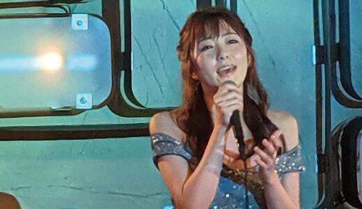 セクシー女優としての資質と歌手としての資質を高めていくセンス溢れるライブパフォーマンスを披露!8月18日ミルジェネpresentsライブ「月で逢いましょう」青空ひかり初ソロライブ!